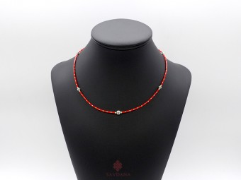 CD155 Collier Tibétain 47 cm