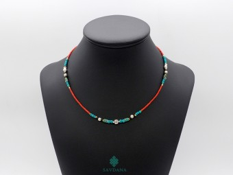 CD156 Collier Tibétain 47 cm