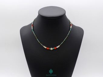 CD157 Collier Tibétain 46 cm
