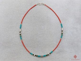 CD160 Collier Tibétain 47 cm