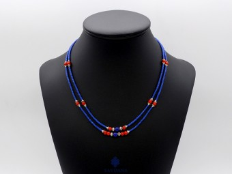 CD162 Collier Tibétain 49 cm