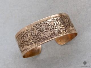 BrD361 Bracelet Tibétain Cuivre Chhepu