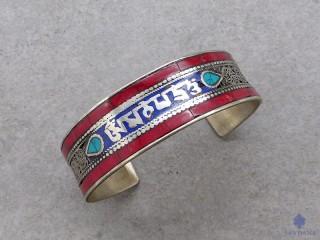 BrD367 Bracelet Tibétain Mantra
