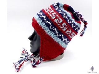 Bon16 Bonnet en Laine du Népal