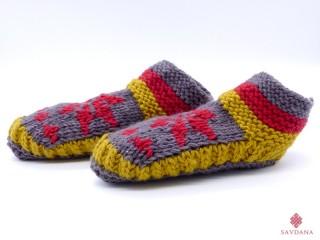 Chs04 Chaussons Chaussettes en Laine du Népal