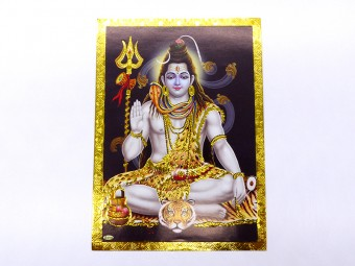 AF118 Petite Affiche / Carte du Népal Ganesh