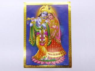 AF119 Petite Affiche / Carte du Népal Shiva