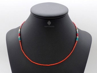 CD125 Collier Tibétain 54 cm