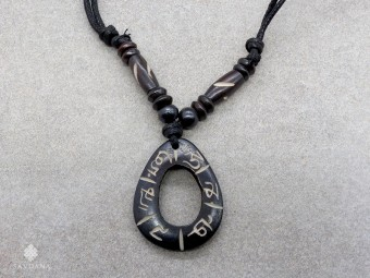CD171 Collier Tibétain Mantra