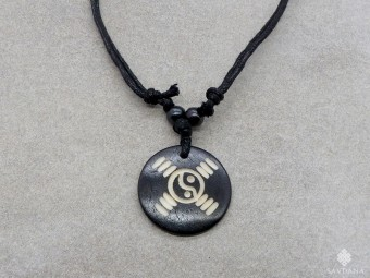 CD183 Collier Tibétain Yin Yang