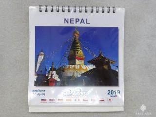 Cal09 Calendrier du Népal A Poser