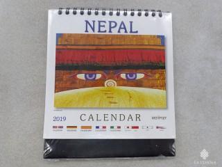 Cal12 Calendrier du Népal A Poser