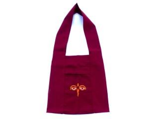 Sac114 Sac de Moine Tibétain Yeux de Bouddha