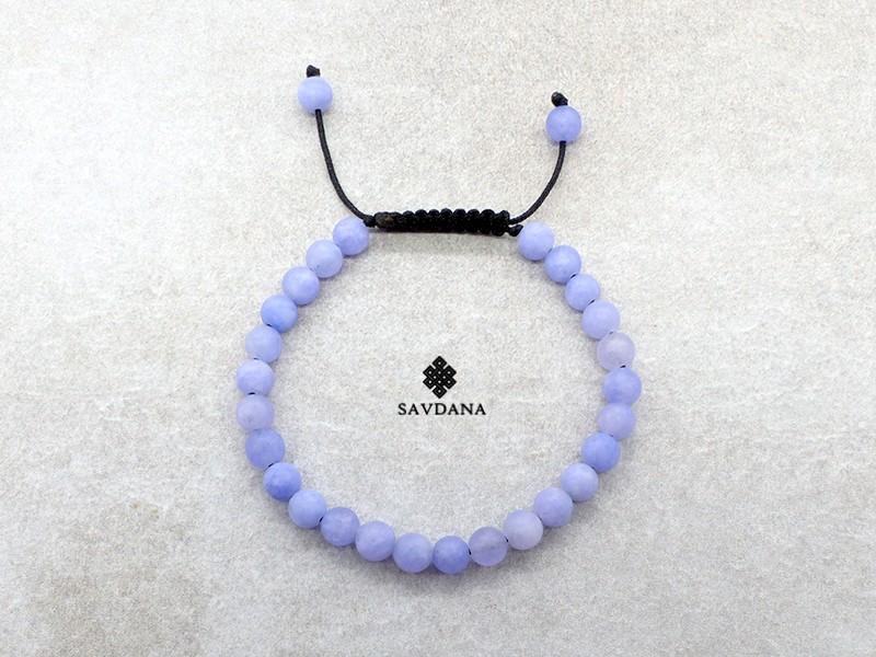 beaucoup de choix de arrive haut de gamme pas cher BrMala437 Bracelet Mala de Prières Tibétain Jadéite Mat