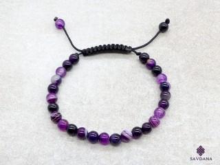 BrMala386 Bracelet Mala Agate