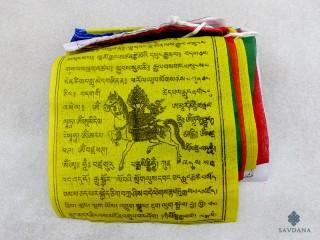 DP31 Drapeaux de Prières Tibétains 1,40 m
