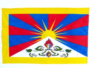 DP07 Drapeau du Tibet Taille L