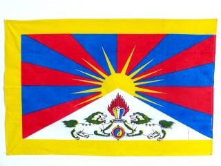 DP12 Drapeau du Tibet Taille S