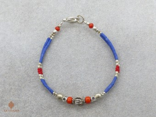 BrD347 Bracelet Tibétain 18 cm