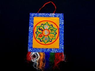 BB37 Bannière Tibétaine Mantra