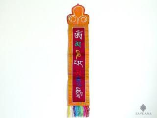 BB46 Bannière Tibétaine Mantra