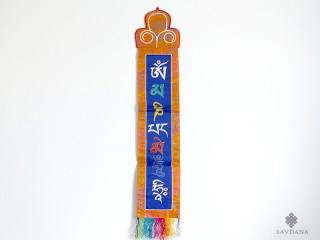 BB97 Bannière Tibétaine Mantra