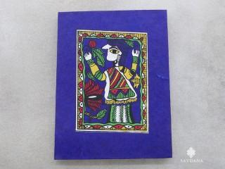 CrA196 Carnet Artisanal Népalais Art Mithila