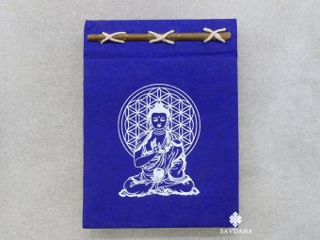 CrA213 Carnet Artisanal Népalais Bouddha