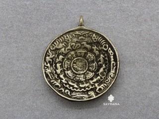 P101 Pendentif Tibétain Dorje Vajra