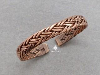 BrD417 Bracelet Tibétain Cuivre