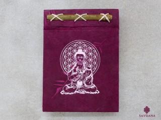 CrA214 Carnet Artisanal Népalais Bouddha