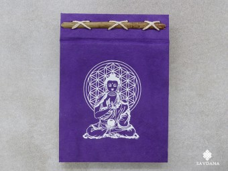 CrA222 Carnet Artisanal Népalais Bouddha