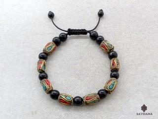 BrD165 Bracelet Tibétain