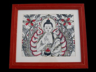 CAD12 Cadre Bouddha