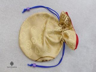 PochTib50 Petite Pochette Tibétaine pour Mala