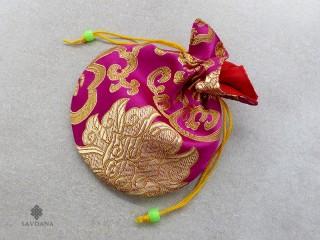 PochTib23 Petite Pochette Tibétaine pour Mala