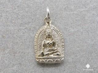 PA441 Pendentif Argent Massif Bouddha