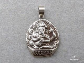 PA169 Pendentif Argent Massif Ganesh