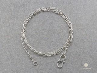 ChA20 Chaine Argent Massif 50 cm