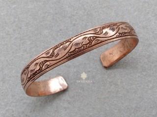 BrD172 Bracelet Tibétain Cuivre