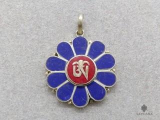 P67 Pendentif Tibétain Om