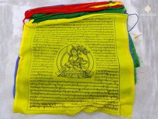 DP17 Drapeaux de Prières Tibétains Tara 8,50 m