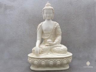 St73 Statue Bouddha Dragon