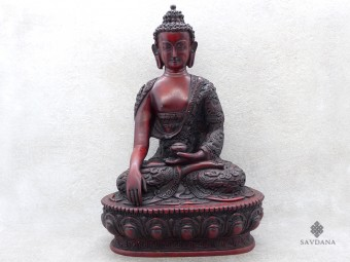 St74 Statue Bouddha Dragon