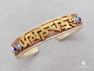 BrD413 Bracelet Tibétain Mantra