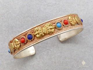 BrD420 Bracelet Tibétain Dorje Vajra