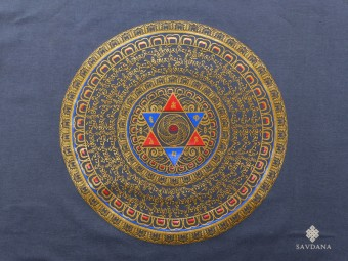 TSrt81 T-Shirt Mandala Mantra