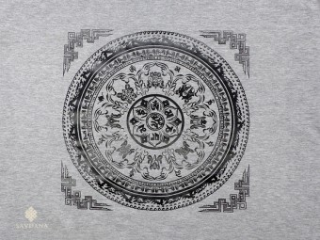 TSrt86 T-Shirt Mandala Mantra