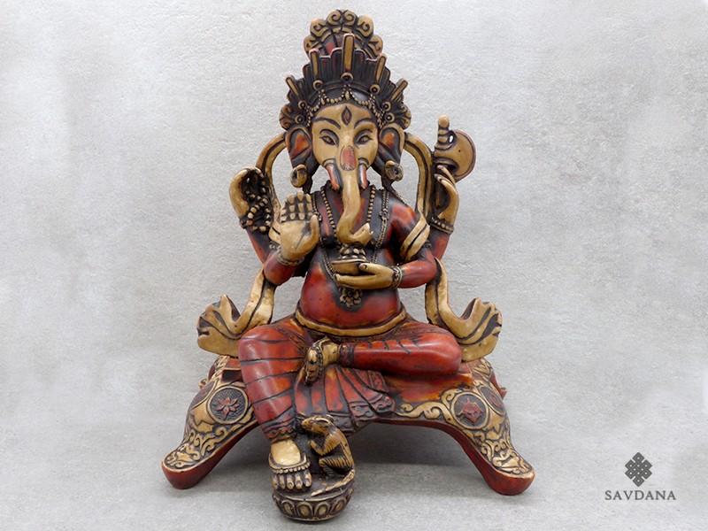 https://www.savdana.com/18168-thickbox_default/st51-statue-ganesh-signes-auspicieux-du-bouddhisme-astamangala.jpg