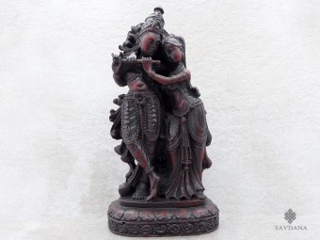 St39 Statue Krishna & Radha